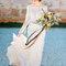 Bloemenkroon voor de bruid