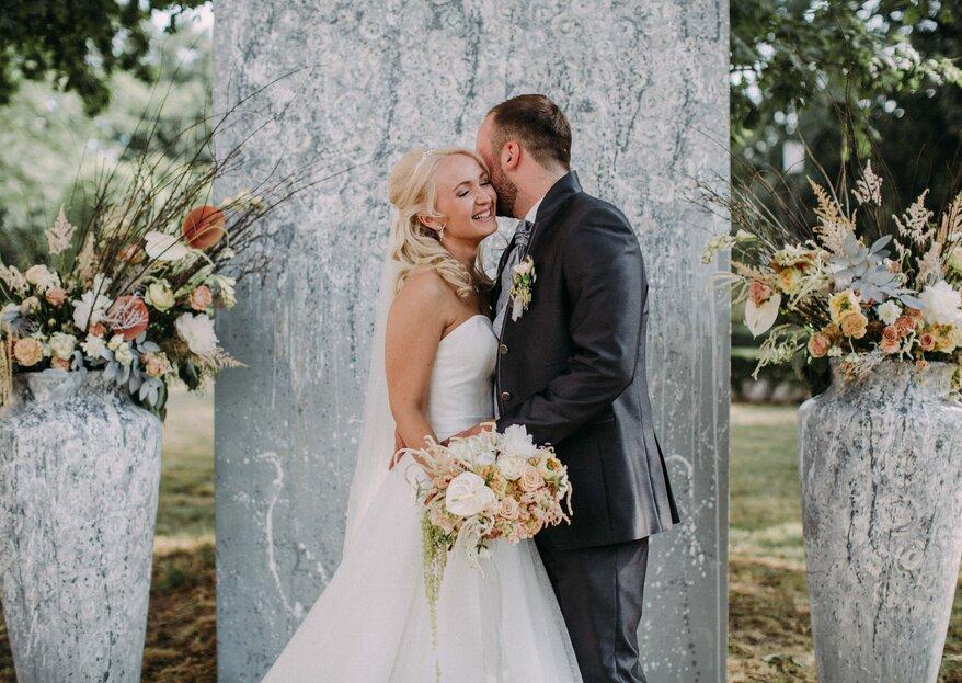 Hochzeit im Herrenhaus – Elena & Mario sagten in denkmalgeschützter Location Ja