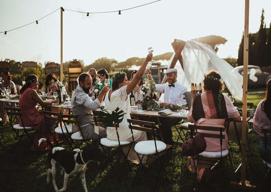 Non solo gli sposi: anche gli invitati devono essere protagonisti dell'album di nozze