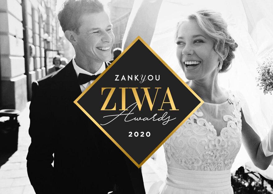Llegan los ZIWA 2020 para reconocer a los mejores del sector nupcial
