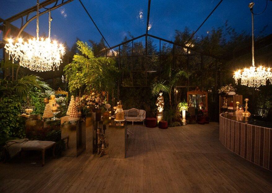 Struttura, luci e decorazioni: il trio delle meraviglie per le tue nozze con Privitera