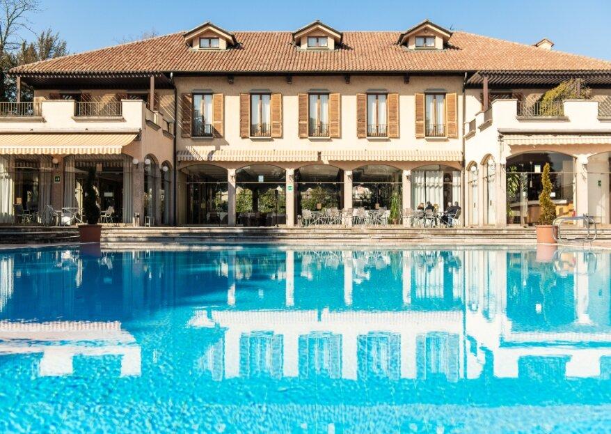 Hotel dei Giardini: il tuo matrimonio in un'antica casa colonica in provincia di Milano