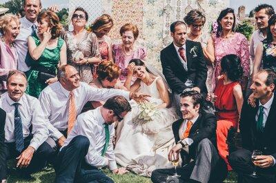 Recordarás siempre tu boda con fotografías espontáneas y frescas, cortesía de Bamba&Lina