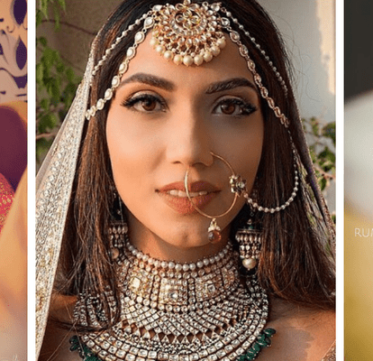 20 Stunning Indian Brides Who Kept Their Hair Open And Went