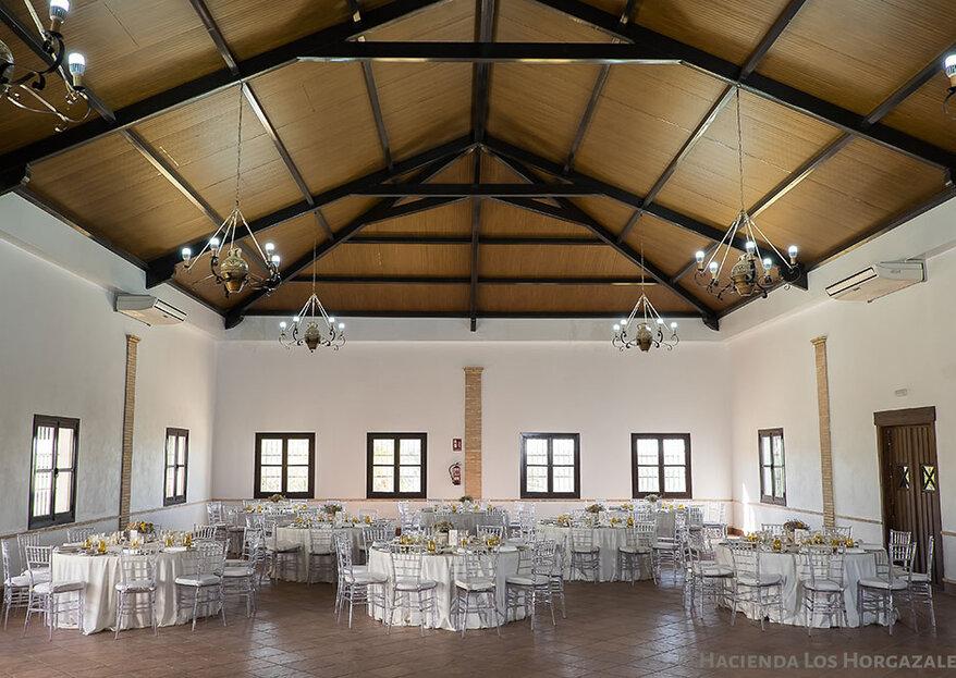 Celebra tu boda con toda la esencia del entorno gaditano y en una finca nueva: la Hacienda Los Horgazales