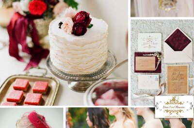 A cor do ano de 2015: Marsala! Inspire-se nela para seu casamento!