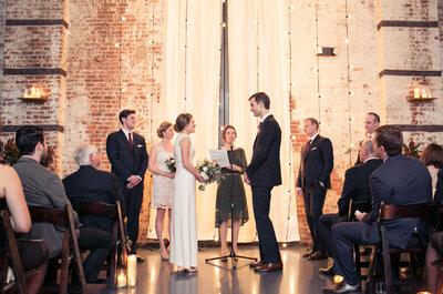 Industrial chic, una tendencia sin igual para tu boda: Anímate a experimentar con ella