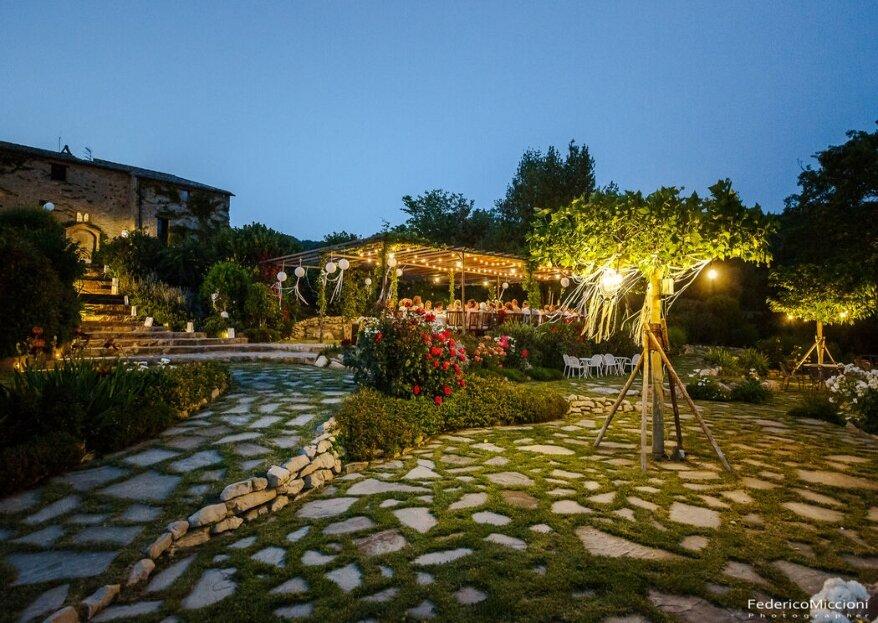 Il Castello di Petrata: immerso nel verde della campagna umbra, è pronto a far da cornice alle vostre nozze!