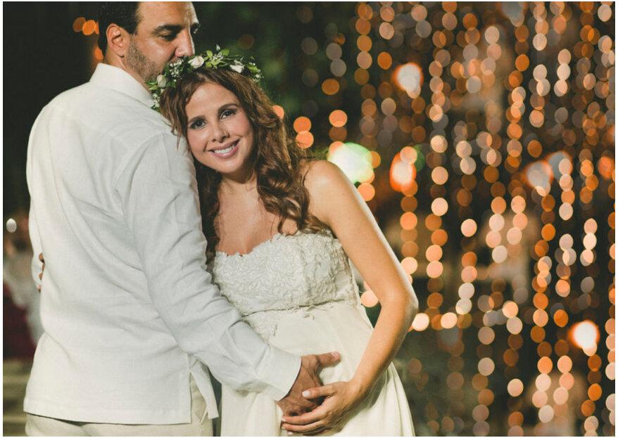 ¿Te casas y estás en embarazo? 5 formas para decírselo a todos en tu boda