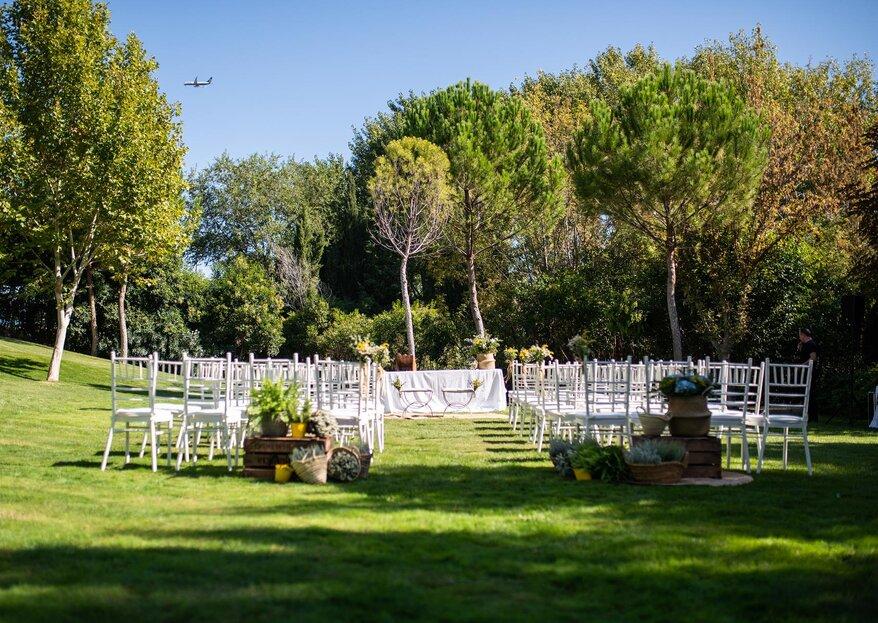 La Posta Real: diseña una boda muy personal en un espacio lleno de recuerdos castellanos