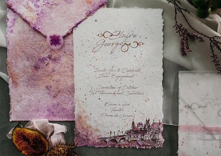 10 dicas para escolher a estética, a estrutura e os textos para os convites de casamento