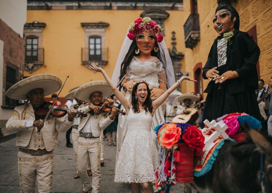 9 detalles extraordinarios para incluir en tu boda destino