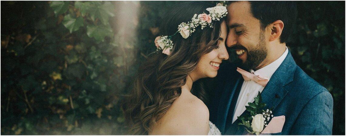 Andrea y Nelson ¡Una boda íntima con mucho estilo!