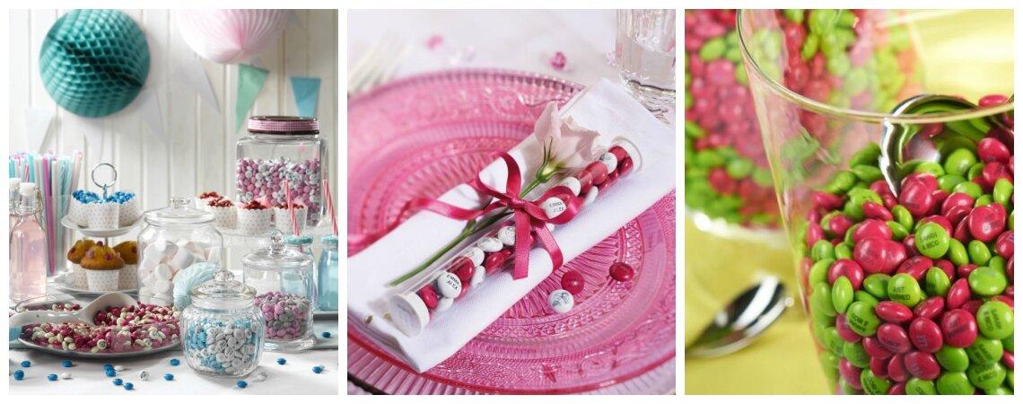 Personalisierte M&M's als süßes Geschenk für Ihre Hochzeitsgäste