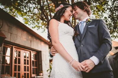 Kathy y Sammuel viven un momento mágico, ¡su matrimonio!