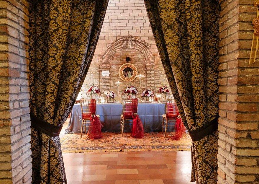 Villa Montegranelli: la dimora nobiliare del '700 nella campagna umbra adatta alle tue nozze
