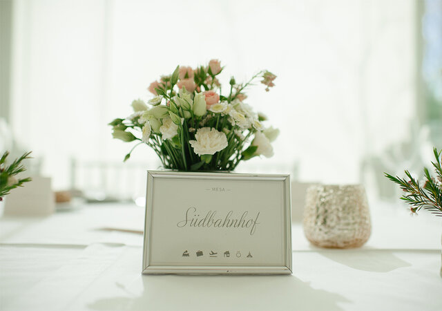 Os nomes para as mesas de casamento serão mesmo um quebra-cabeças?
