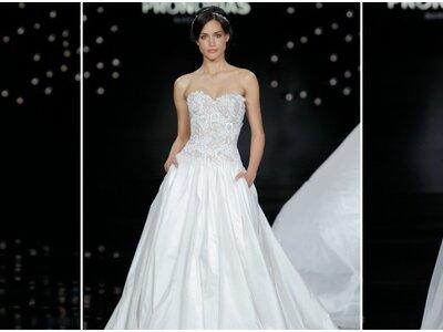 Elegancia y feminidad: vestidos de novia Pronovias 2017