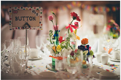 Technicolour weddings and colourful inspiration