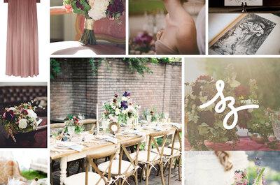 Diseña tu boda con un toque classy: Las mejores ideas en decoración con tonos vino y rosados