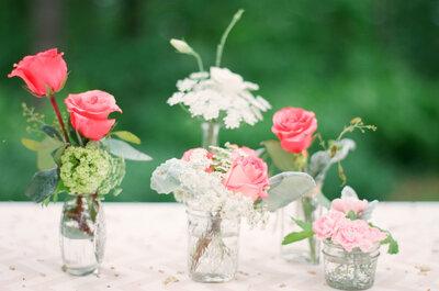 7 tendencias florales extraordinarias para las bodas 2015: Magia en la naturaleza