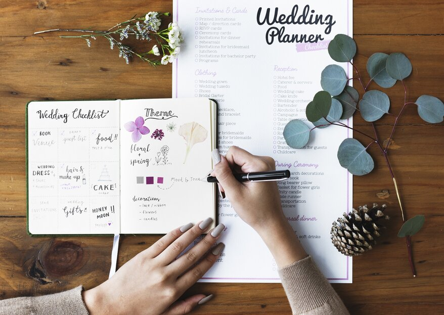 Los momentos más importantes en la organización de tu boda