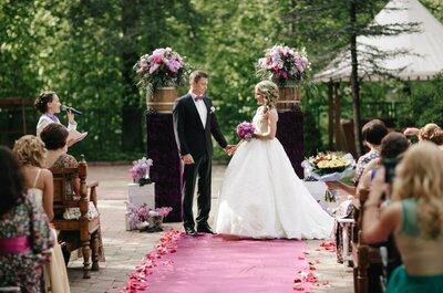 ТОП8: выездные свадебные регистраторы и ведущие церемоний в Санкт-Петербурге
