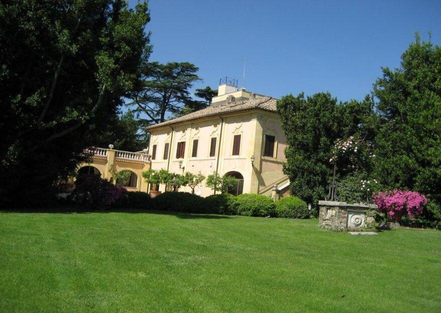 Matrimonio in giardino al centro di Roma? Solo a Villa Blumenstihl