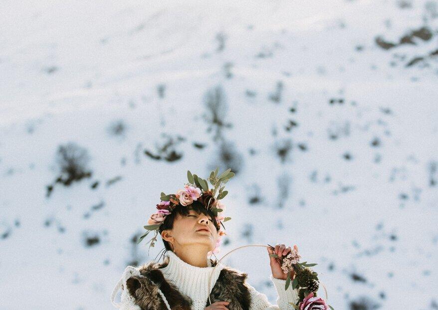 10 Gründe warum Sie unbedingt im Winter heiraten sollten!