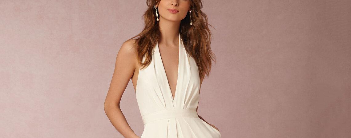 25 jumpsuits para novia e invitada que te harán olvidarte POR COMPLETO del vestido