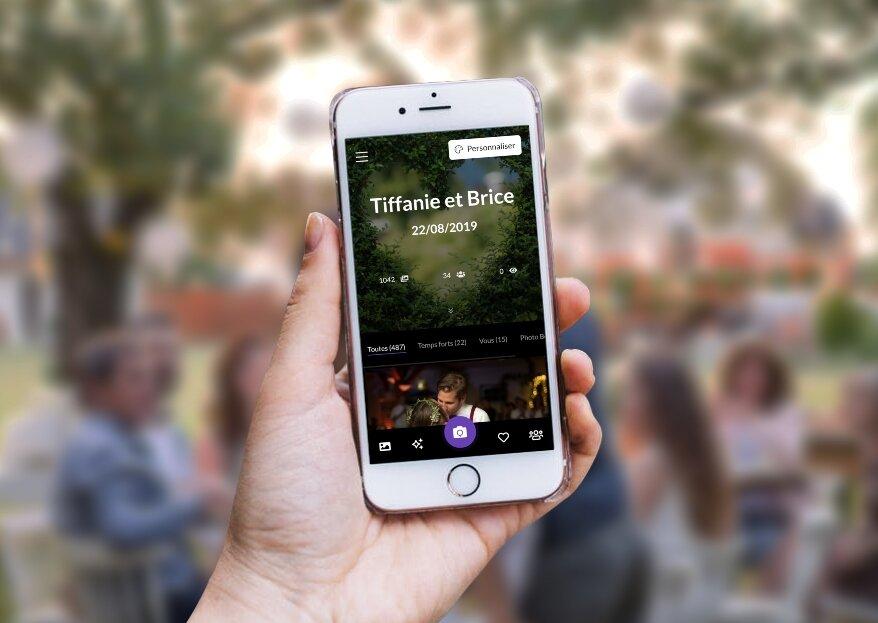 Memento Wedding : le nouveau concept digital qui partage instantanément toutes les photos de votre mariage