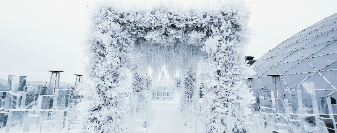 Хрупкий сон: идеи для оформления зимней свадьбы
