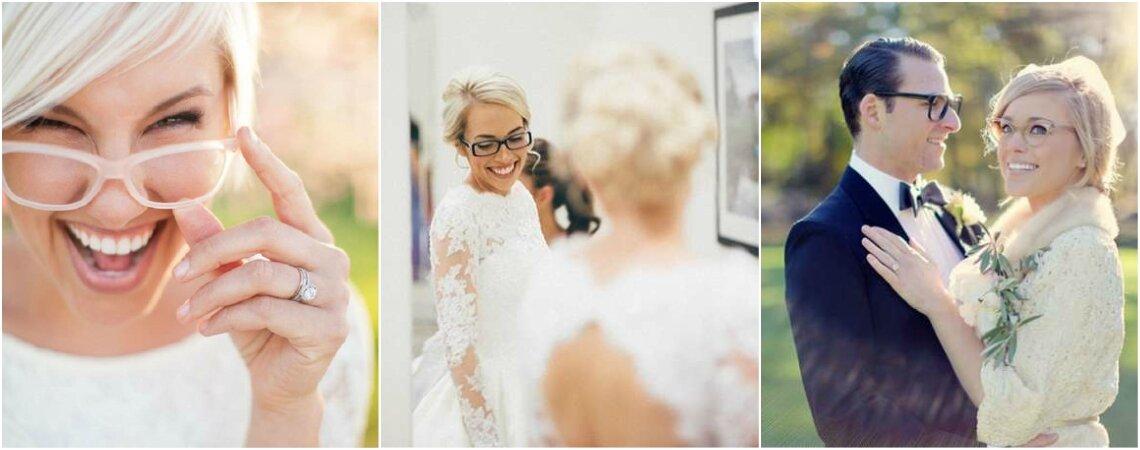 Maquillaje para novias con anteojos: claves para lucir mejor con tus lentes