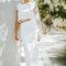 Elisa Ness, vestido de noiva duas peças.