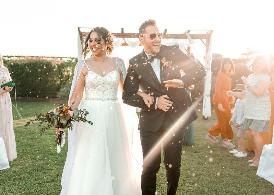 Ni tú ni yo: la boda de Macarena y Bruno