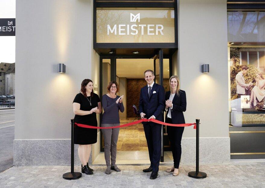MEISTER Trauringe und Schmuck eröffnet ersten Flagshipstore in Zürich