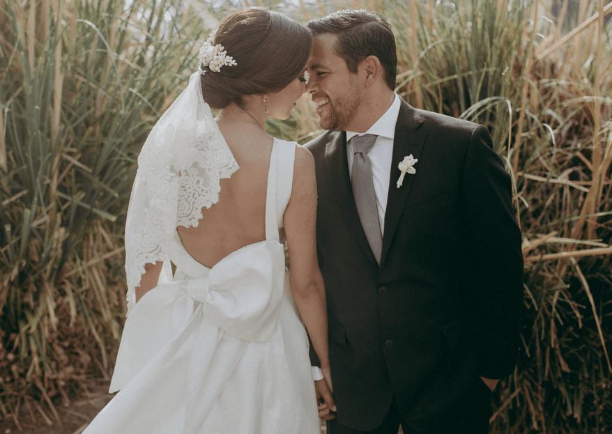 Eres mi felicidad: la boda de Laura & Diego