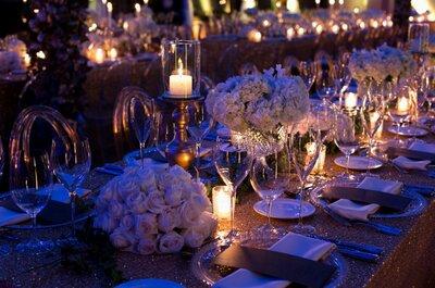 Cómo decorar tu boda con velas: 10 ideas para lograr un estilo romántico
