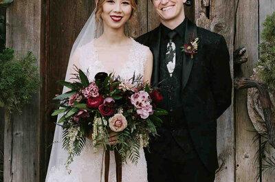 Un matrimonio inspirado en Harry Potter. ¡Celebraron la boda de sus sueños!