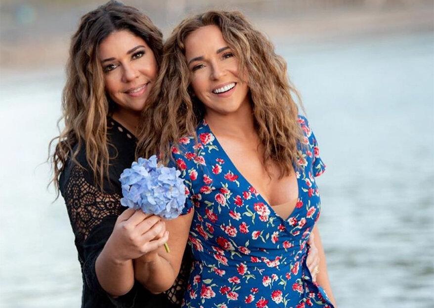"""Daniela Mercury e Malu Verçosa casam-se nos Açores: """"agora estamos oficialmente casadas em Portugal, na Europa e no mundo"""""""