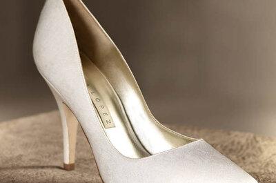 Zapatos para novia Pronovias 2013