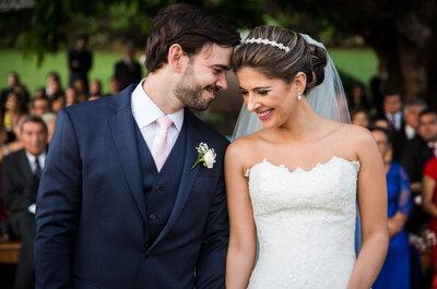Erica & Felipe: casamento rústico no campo inspirado na Toscana