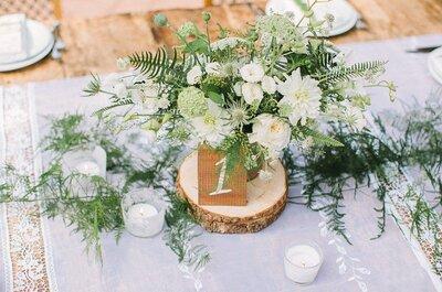 Как выбрать таблички для свадебного стола? Подборка для вдохновения!