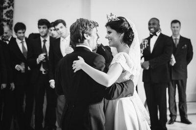 Una boda romántica y emotiva: el