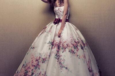 Floral-print victim? Ecco qualche proposta per la sposa per un... fior fior di matrimonio!