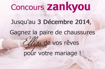Jeu concours : Gagnez la paire de chaussures Ellips de vos rêves pour votre mariage !