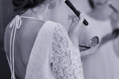 Une robe de mariée dos nu et une poitrine parfaitement maintenue, c'est possible !