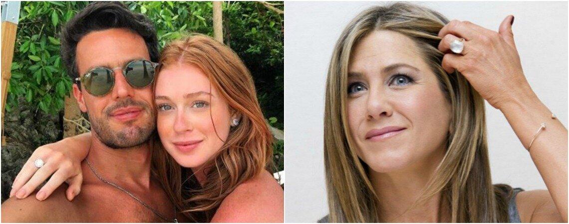 Anel de noivado: veja os 10 mais belos modelos escolhidos pelas famosas!