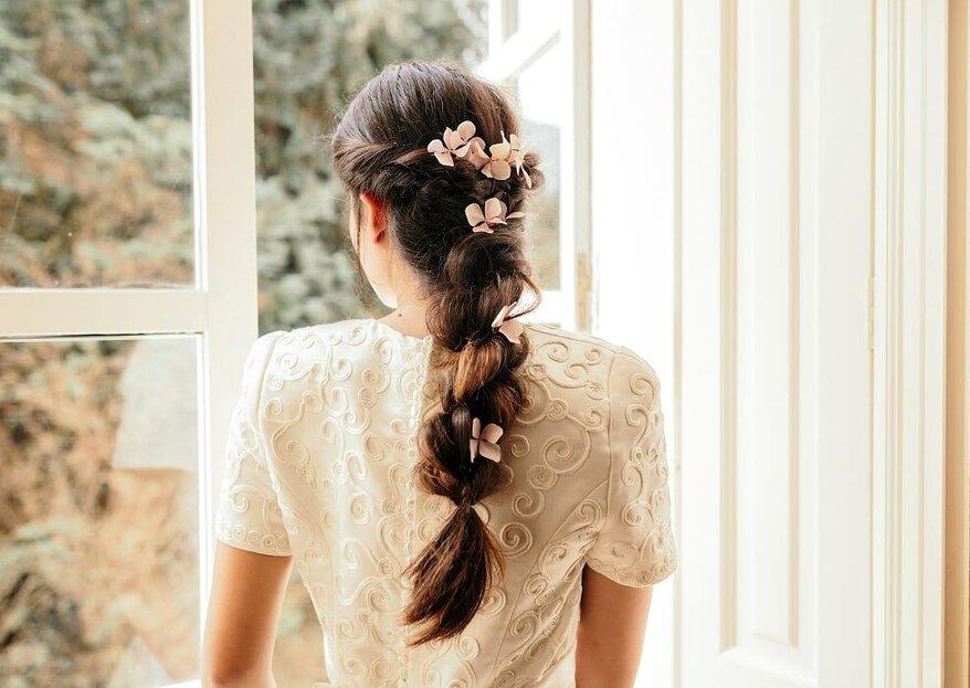 Los 5 estilos que más triunfan en peinados de novia: ¿con cuál te quedas?