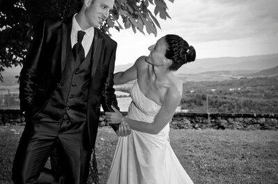 Noémie et Antoine : un joli mariage aux couleurs de la Provence avec les Alpes en arrière-plan